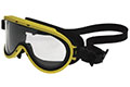 Yellow Color Chemical Goggle with Silicone Strap (510-CD)