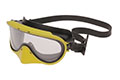 Yellow Color Chemical Goggle with Silicone Strap with Nose (510-CDN)