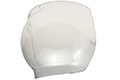 "8 1/2"" x 15"" x 0.060"" Clear Color, Spherical Bubble Specialty Face Shield (IM11-L6F)"