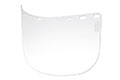 "8"" x 15 1/2"" x 0.060"" Clear High Temperature Face Shield (IM9-L6F)"