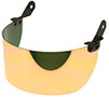"4"" Gold/Medium Green QuickView™ Replacement Flip Front Face Shield (QVGHCFM-4)"